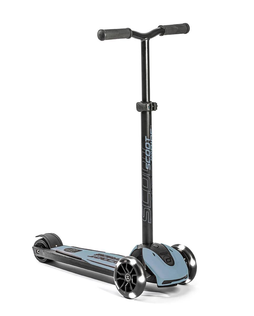 Scoot & Ride Highwaykick 5 LED - steel