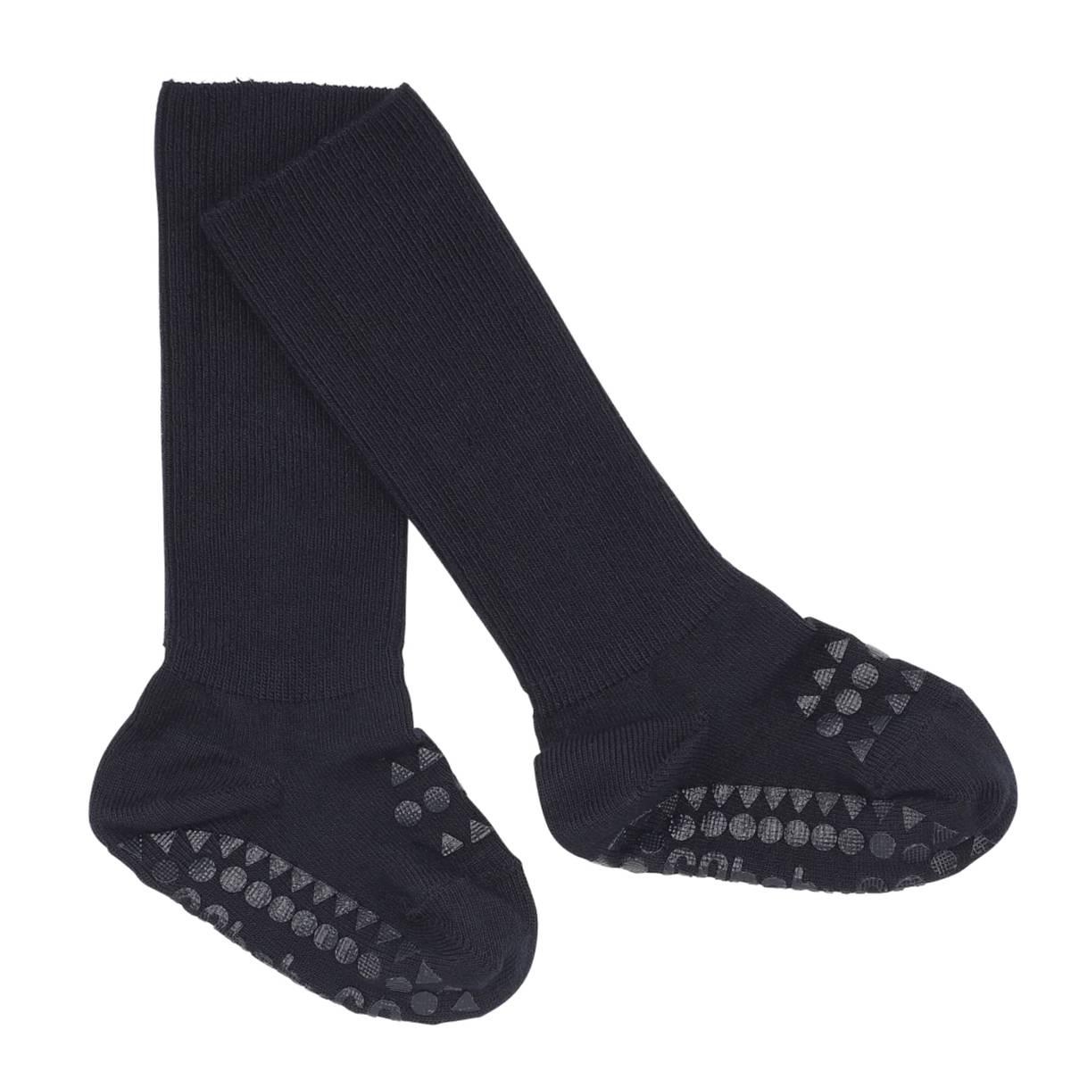 GoBabyGo antiskli sokker bambus - marine