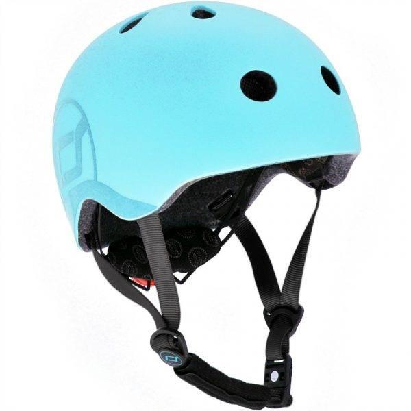 Bilde av Scoot & Ride hjelm - Blueberry - 3-7år