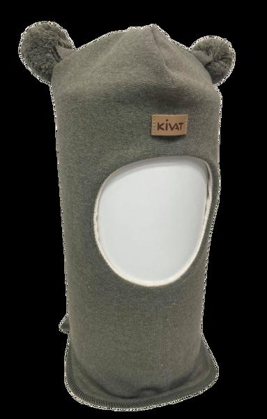 Bilde av Kivat Logo balaclava m/dusker -grønn