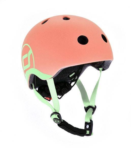Bilde av Scoot & Ride hjelm - peach 1-4 år