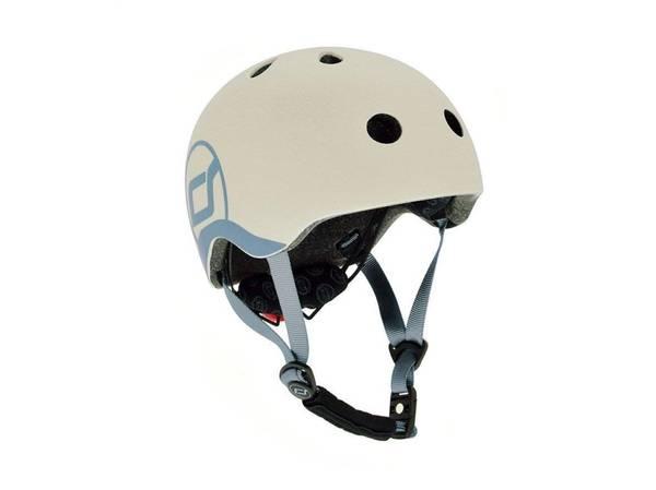 Bilde av Scoot & Ride hjelm - ash 1-4 år
