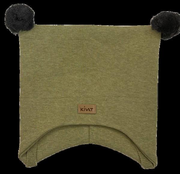 Bilde av Kivat Logo knytelue m/dusker - grønn/grå