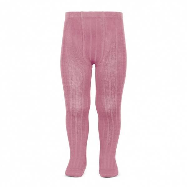 Bilde av Condor rib strømpebukse - frisk rosa