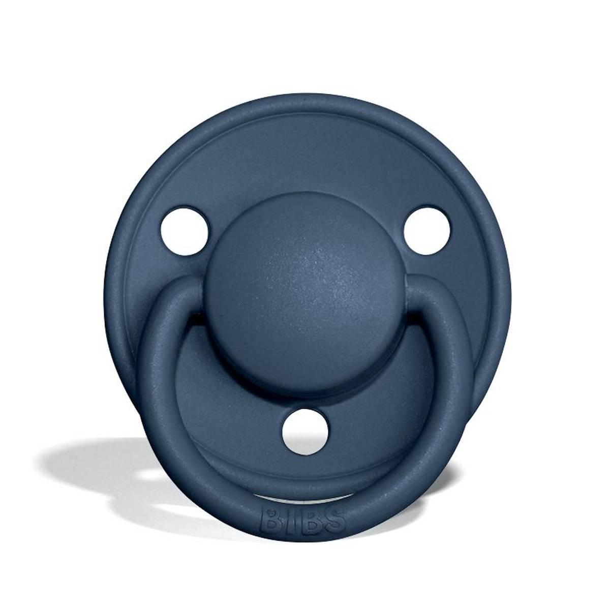 Bibs De Lux silikon smokk - steel blue