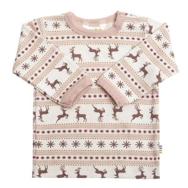 Bilde av Joha Jumping Deer ull trøye mini - rosa