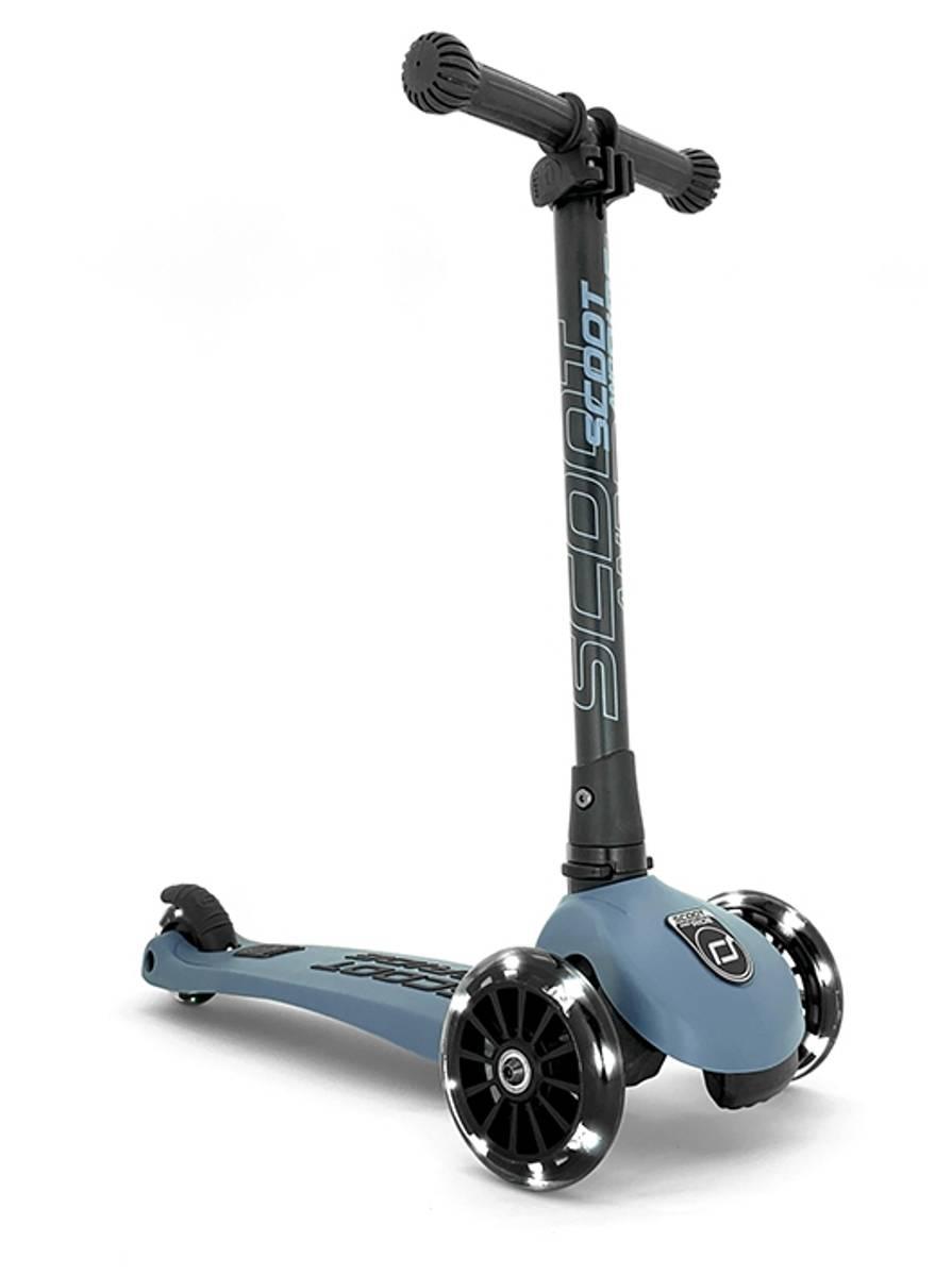 Scoot & Ride Highwaykick 3 sparkesykkel - steel
