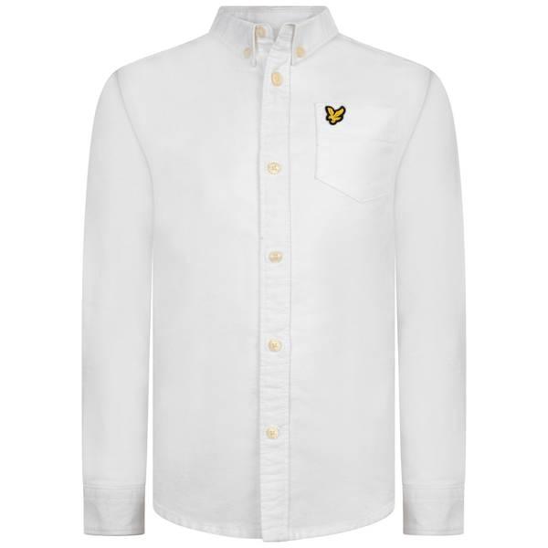 Bilde av Lyle & Scott Oxford skjorte - bright white