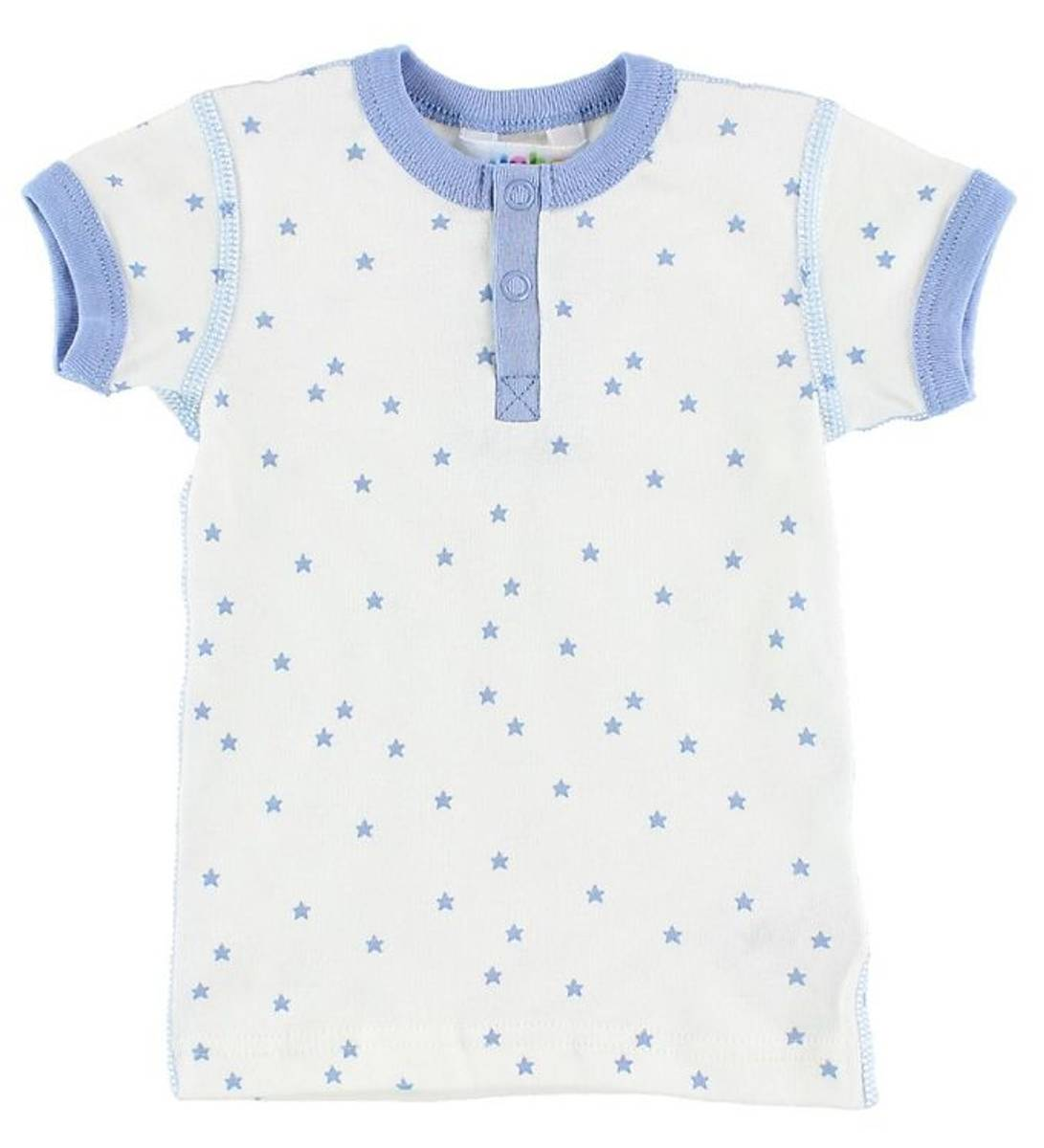 Joha stjerne t-skjorte kids - blå