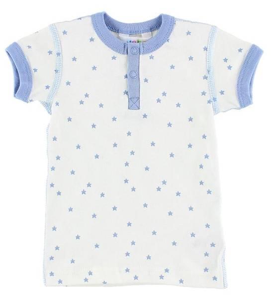 Bilde av Joha stjerne t-skjorte kids - blå