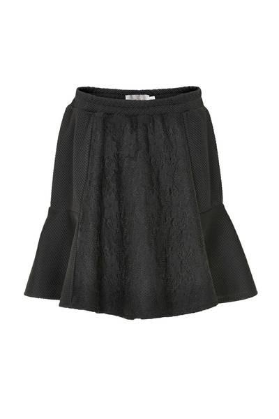 Bilde av Creamie Dea skirt - black