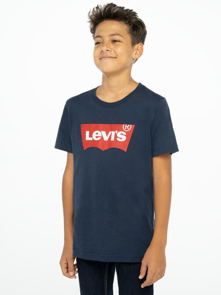 Bilde av Levis batwing t-skjorte - dress blues
