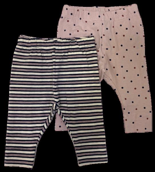 Bilde av Name it Fronla 2pk legging - rosa