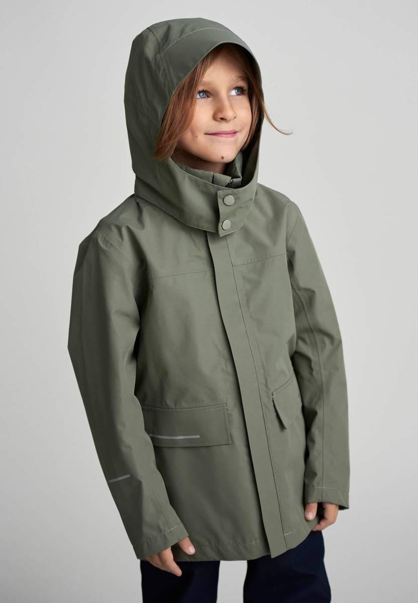 Reima Voyager jakke - greyish green