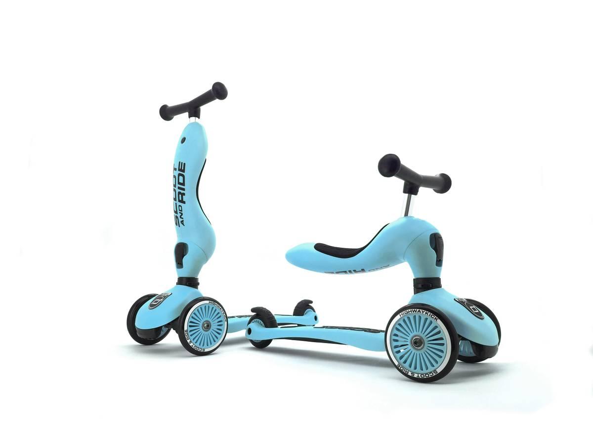 Scoot & Ride Highwaykick 1 sparkesykkel - blueberry