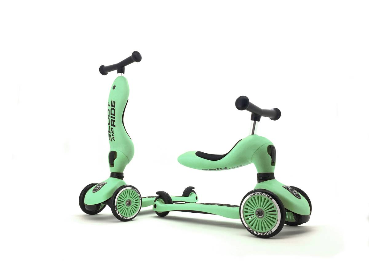 Scoot & Ride Highwaykick 1 sparkesykkel - kiwi