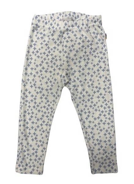 Bilde av Joha Star ull/silke leggings - blå