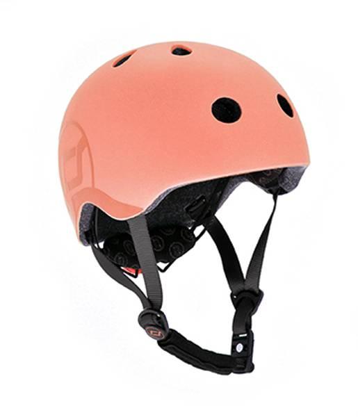 Bilde av Scoot & Ride hjelm - Peach 3-7 år