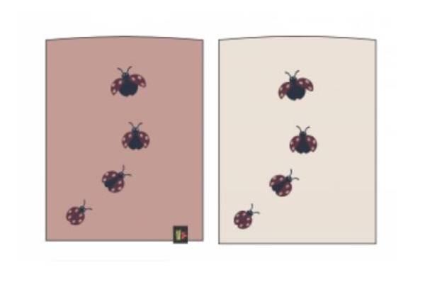 Bilde av Kattnakken Insekt to siders bøff - misty pink
