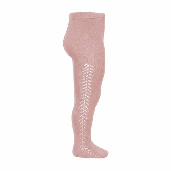 Bilde av Condor perlestrømpebukse - pale pink