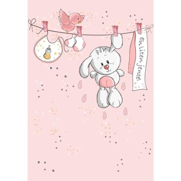 Bilde av Mini kort - en liten jente