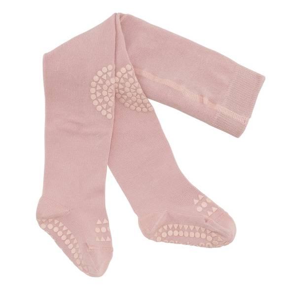 Bilde av GoBabyGo krabbestrømpebukse - rosa