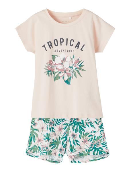 Bilde av Name It Vigea shorts sett - tropical
