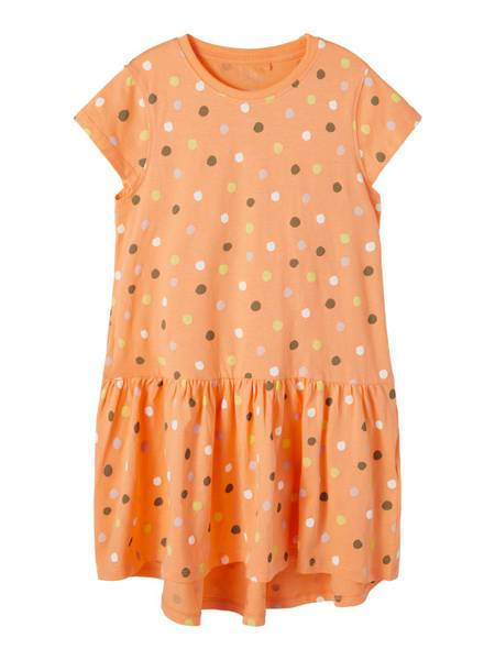 Bilde av Name It Vigga Capsl kjole - cantaloupe dots