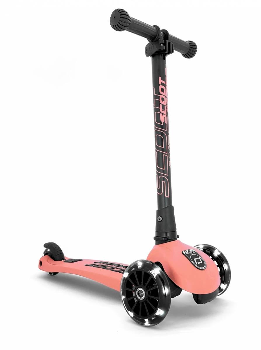 Scoot & Ride Highwaykick 3 sparkesykkel - peach