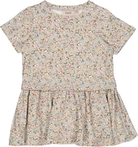 Bilde av Wheat Adea kjole baby - dusty dove flowers