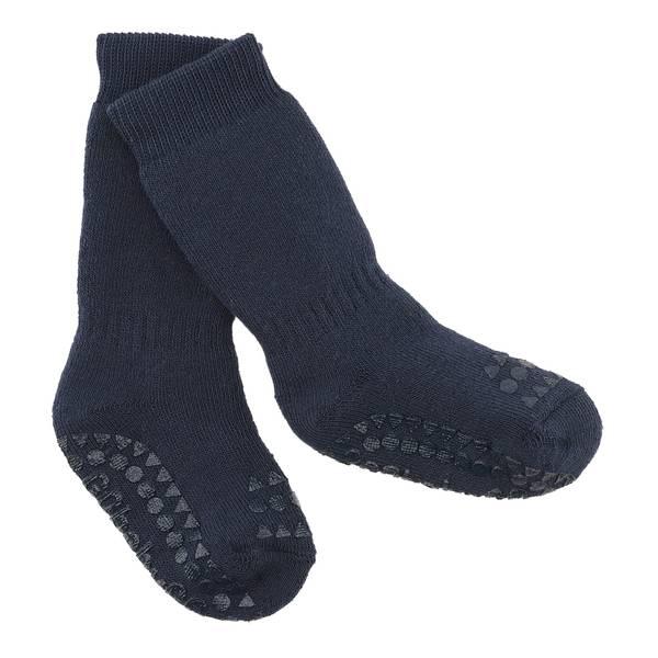 Bilde av GoBabyGo antiskli sokker - marine