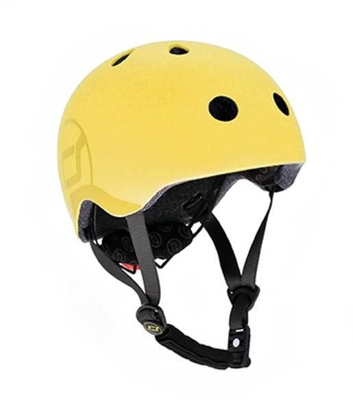Bilde av Scoot & Ride hjelm - lemon - 3-7 år