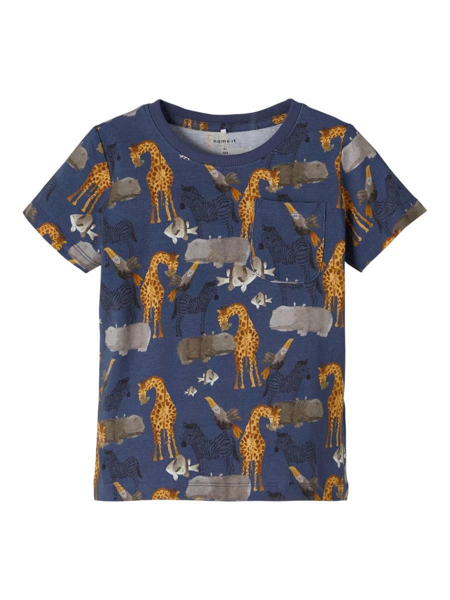 Name It Jelix t-skjorte - vintage indigo
