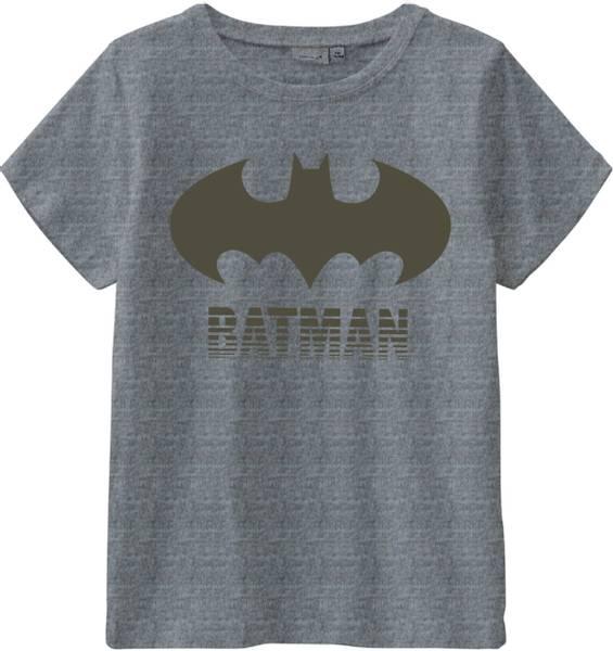 Bilde av Name It Batman Core t-skjorte - grey melange
