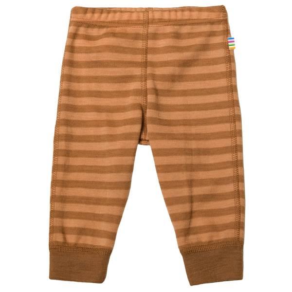 Bilde av Joha Stripe ull leggings mini - kobber
