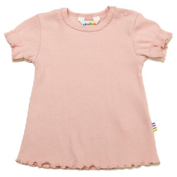 Bilde av Joha Cotton Rib t-skjorte - pastell rosa