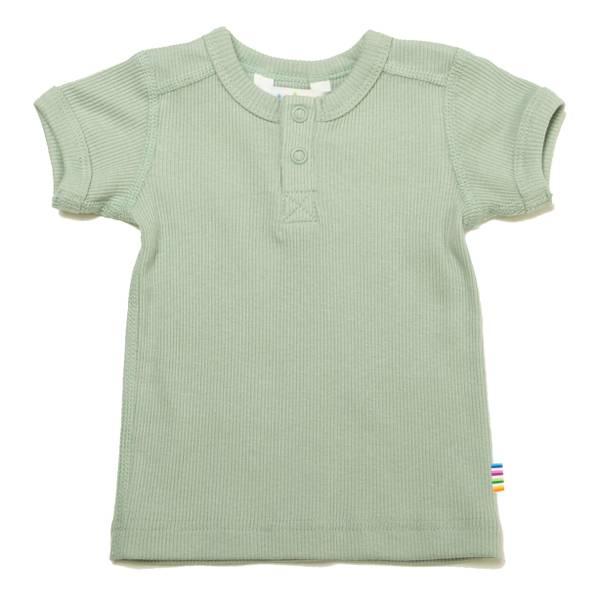 Bilde av Joha Cotton Rib t-skjorte - lys grønn