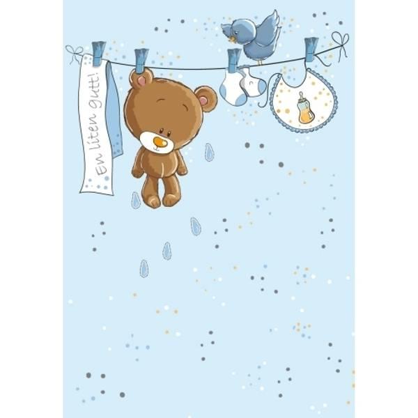 Bilde av Mini kort - en liten gutt