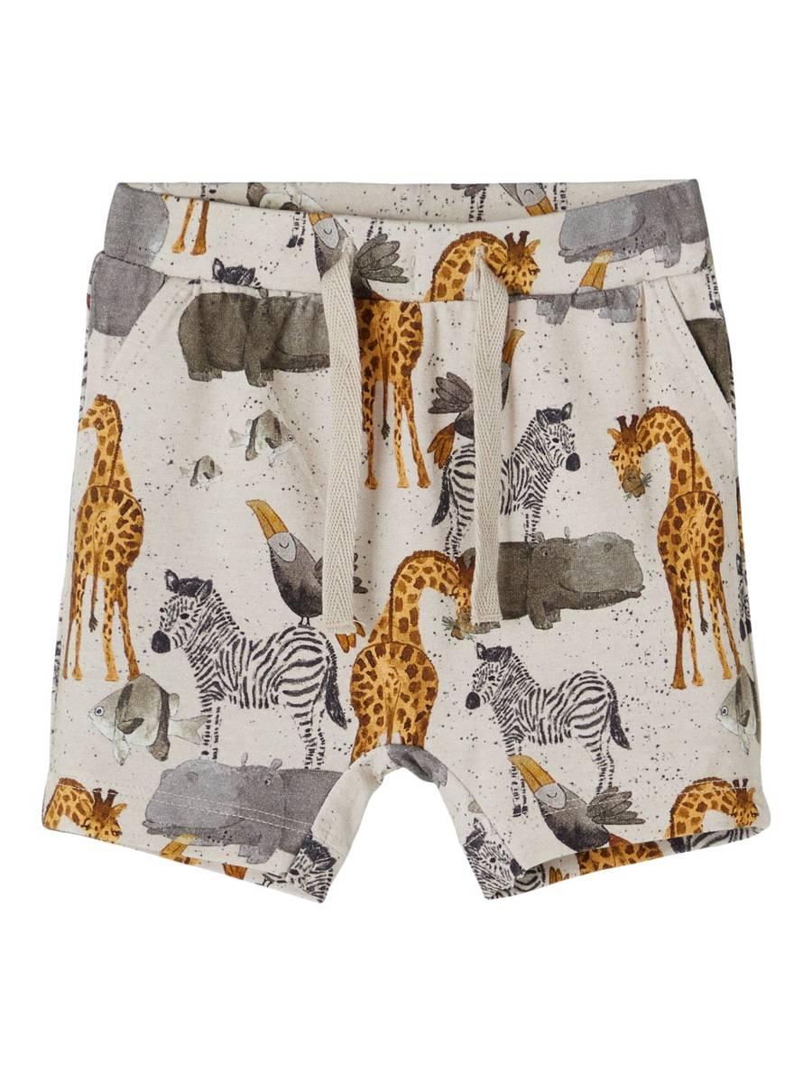 Name It Jelix baby shorts - peyote melange