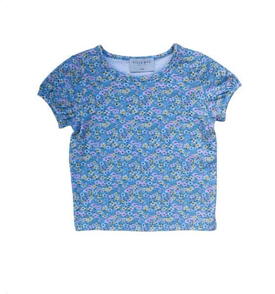 Bilde av Vilje & Ve Tilde t-skjorte - printed blue