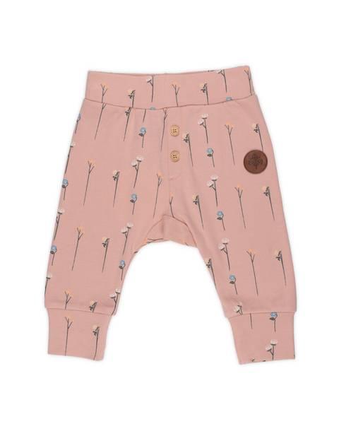 Bilde av Gullkorn Design Villvette baby bukse - soft rosa