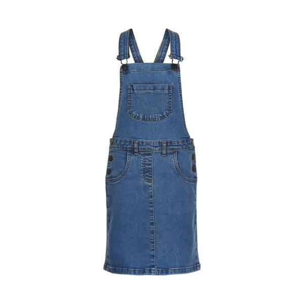 Bilde av The New Tuka denim kjole - medium blue denim