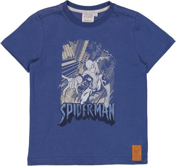 Bilde av Wheat spiderman t-skjorte - cool blue