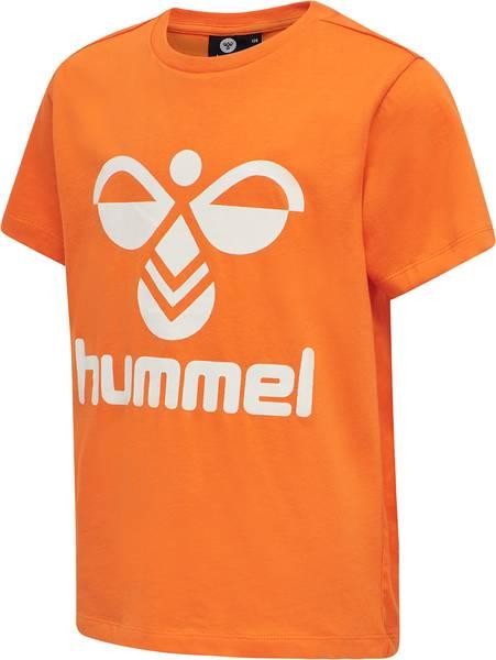 Bilde av Hummel Tres t-skjorte - carrot