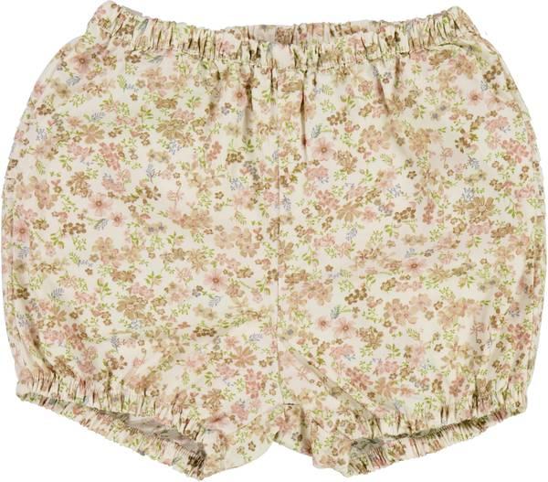 Bilde av Wheat Nappy Pants pleats - eggshell flowers