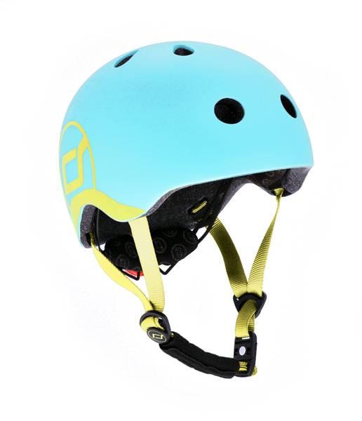 Bilde av Scoot & Ride hjelm - Blueberry- 1-4 år