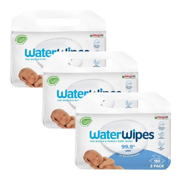 Bilde av WaterWipes Bio 3 x 3 x 60stk