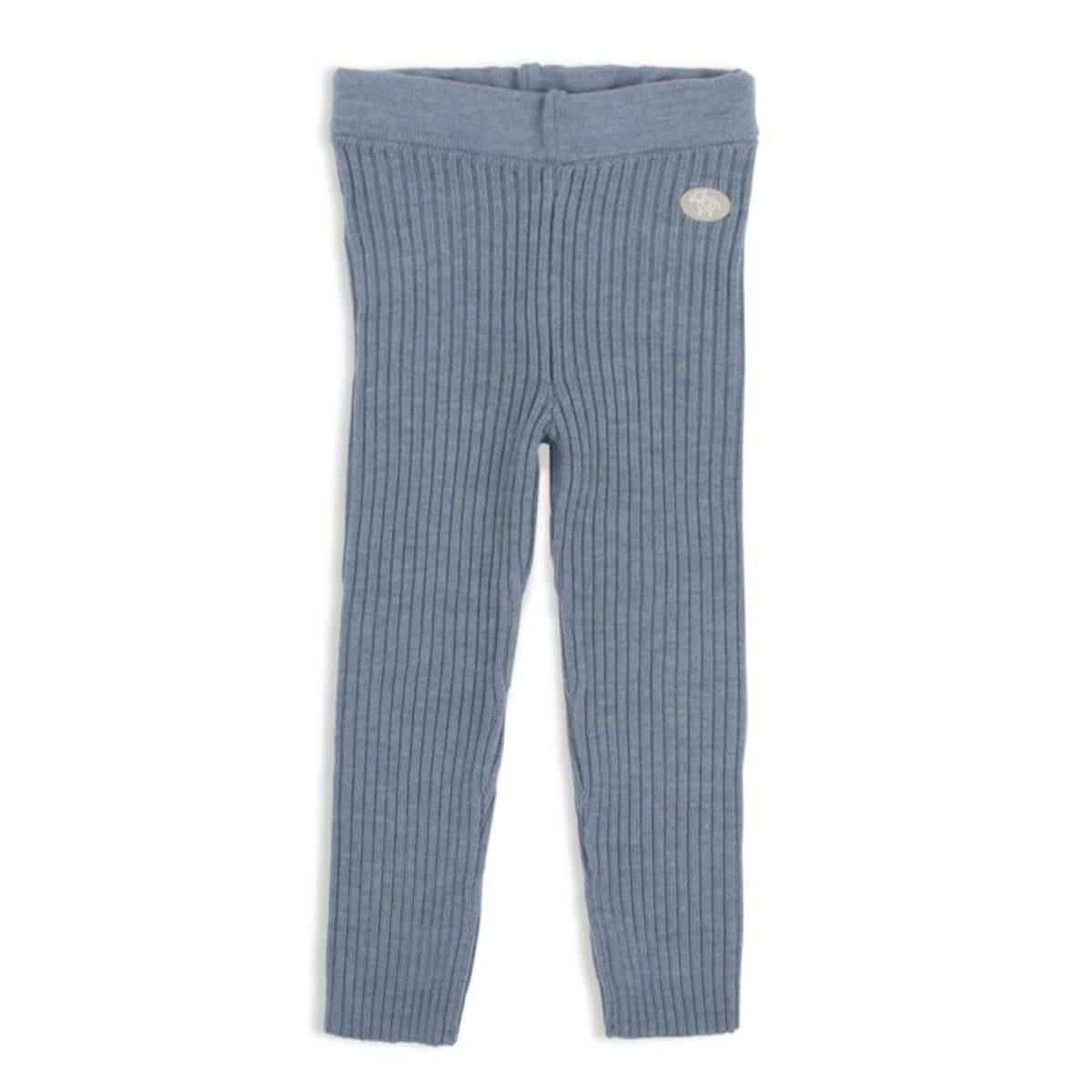 Lillelam bukse classic ribb - mellomblå