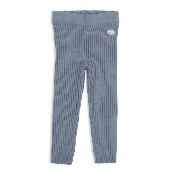 Bilde av Lillelam bukse classic ribb - mellomblå