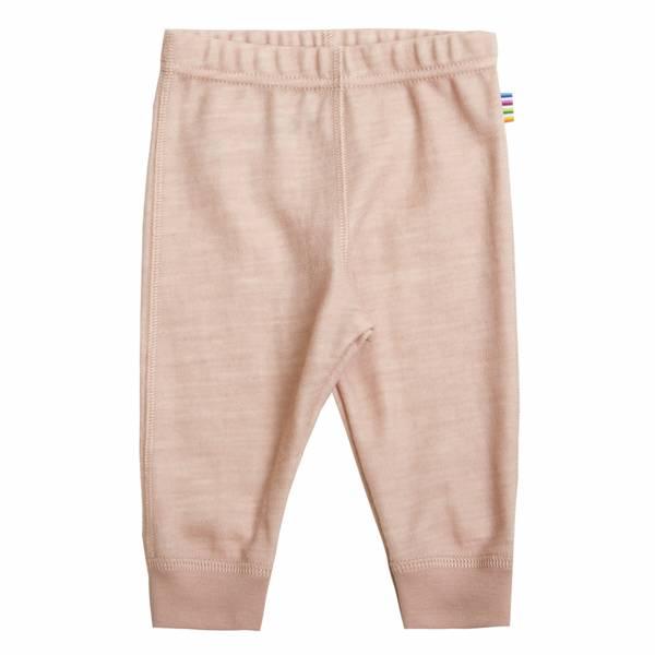 Bilde av Joha Forest ull/bambus ensfarget leggings - rosa